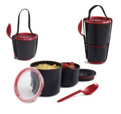 Lunch Pot Black/Red