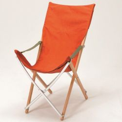 Take Bamboo Long Chair Orange