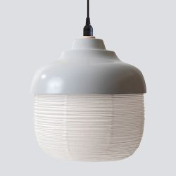 Pendant Lamp The New Old Light L | White