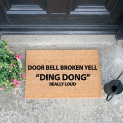 Doormat | Bell Broken