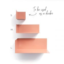 Magnetic Wall Shelf | Salmon Pink