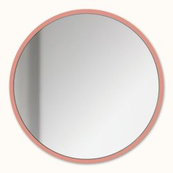 Magnetic Mirror | Salmon Pink