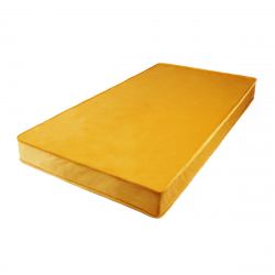 Mattress/Play Matt for Children Velvet | Yellow