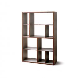 Contemporary solid wood shelf- Medium