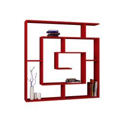 Labyrinth-Bibliothek | Rot