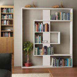 Bücherregal Tesa | Hochglanzweiß