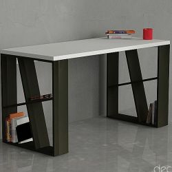 Honey Desk white/black