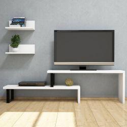 Meuble TV Dirva | Blanc