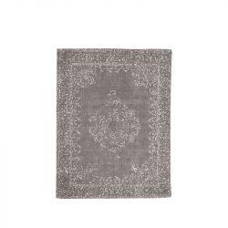 Teppich Vintage 140 x 160 cm | Anthrazit