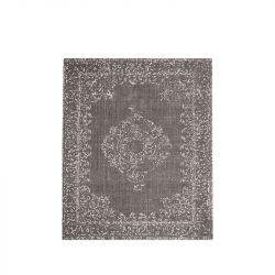 Teppich Vintage 140 x 160 cm | Grau