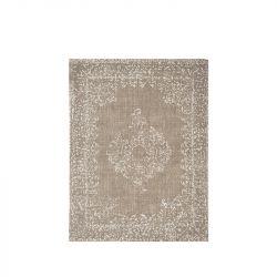 Teppich Vintage 140 x 160 cm | Armee