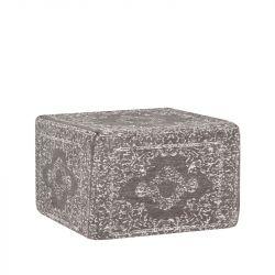 Pouf Vintage 50 cm | Anthracite