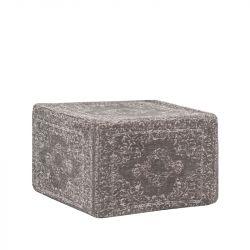 Pouf Vintage 50 cm | Grey