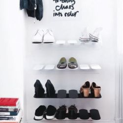Step Shoe Shelf | White