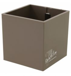 Magnetic Cube 9 cm | Taupe