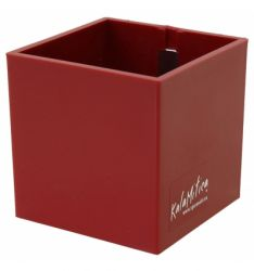 Magnetic Cube 9 cm | Red