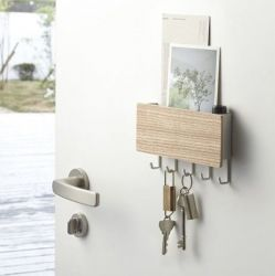 Magnetic Keyhook & Holder Rin | Natural