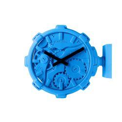 Mal Wall Clock Stereo   Blue