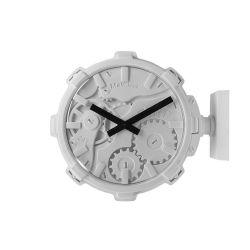 Mal Wall Clock Stereo   Grey