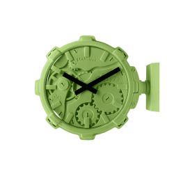 Mal Wall Clock Stereo   Green