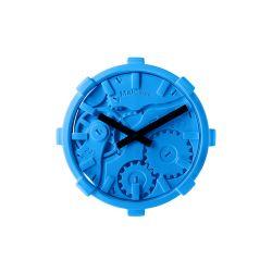 Mal Wall Clock Mono   Blue