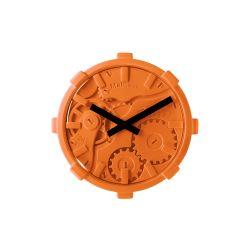 Mal Wall Clock Mono   Orange