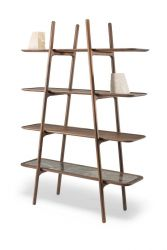 MALIN Shelf System Marble | Walnut