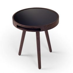 MALIN Table d'Appoint | Noyer