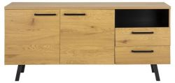 Sideboard Mallow 165 cm | Wilde Eiche