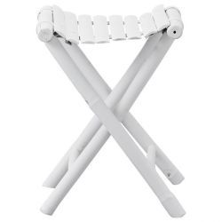 Mandisa Stool 42 | White