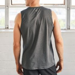 Tank Top Cross Train | Heidekraut Grau