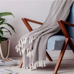Blanket Manolia | Brown