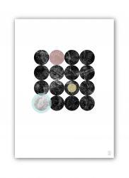 50x70 Druck | Marmor Marvel 10