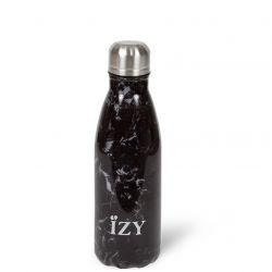 Thermo Trinkflasche 350ml | Marmor Schwarz