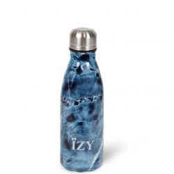 Thermo Trinkflasche 350ml | Marmor Blau