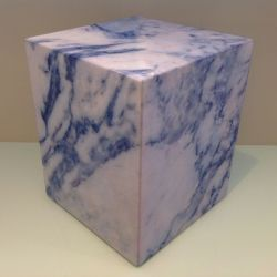 Sit On Everything Cube | Marble