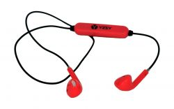 MASCA Bluetooth Earphones | Red