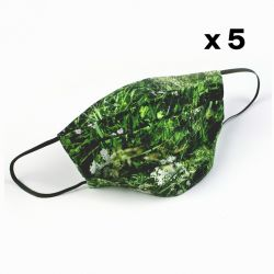 Safety Face Mask Set of 5 | Alpine Meadow