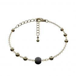 Ball Bracelet Matrix | Black & Gold