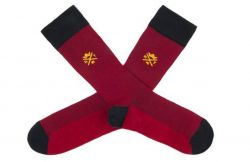 Men Socks Max | Bordeaux