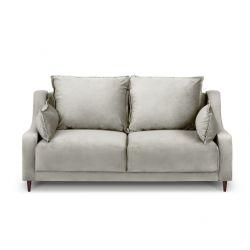 2-Sitzer-Sofa Samt Freesia | Beige