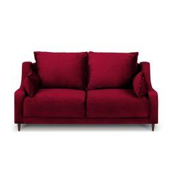 2-Sitzer-Sofa Samt Freesia | Rot