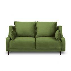 2-Sitzer-Sofa Samt Freesia | Grün