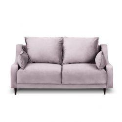 2-Sitzer-Sofa Samt Freesia | Rosa