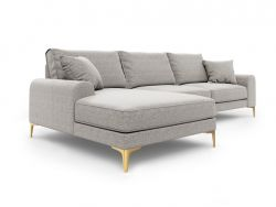 Corner Sofa Left Madara | Light Grey