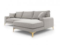 Corner Sofa Right Madara | Light Grey