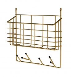 Mitten Shelf Small | Brass