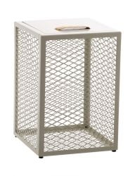 Side Table / Stool / Storage Box The Cube | Egg Shell