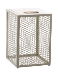 Table d'Appoint / Boîte / Tabouret The Cube | Blanc