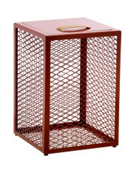Side Table / Stool / Storage Box The Cube | Rust